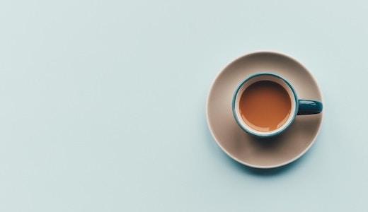今日の夜ご飯と、食後のお茶タイム。