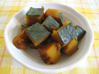 かぼちゃの煮物【煮崩れしにくいレシピです】