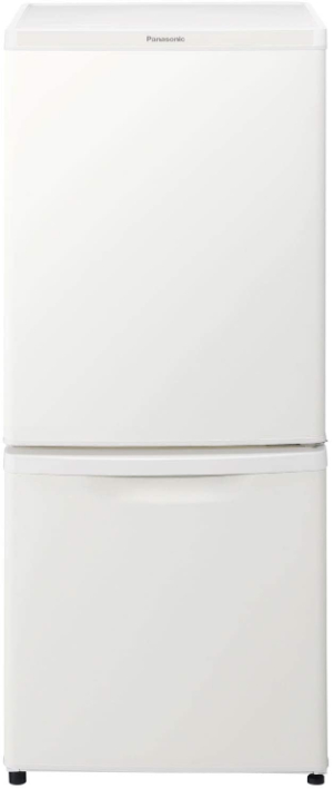 パナソニック 冷蔵庫 2ドア 138L 自動霜取り マットバニラホワイト NR-B14DW-W