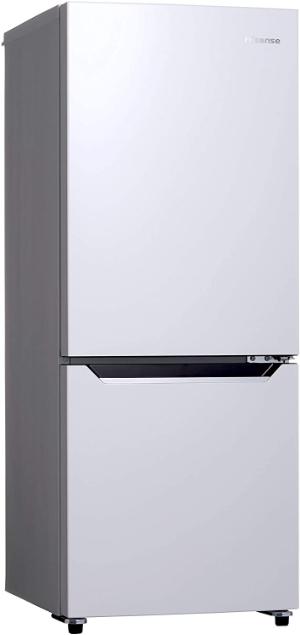 ハイセンス 冷蔵庫 幅48cm 150L パールホワイト HR-D15C 2ドア 右開き 自動霜取機能付き コンパクト