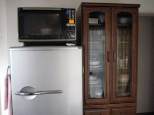 1人暮らしの冷蔵庫 きん。部屋