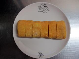 お弁当に入れる卵焼き
