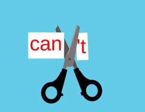 「できない」を「できる」に変える。