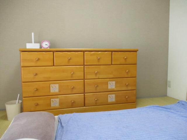 2人暮らし かたづけやすい寝室