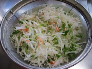 品目が多い野菜サラダ