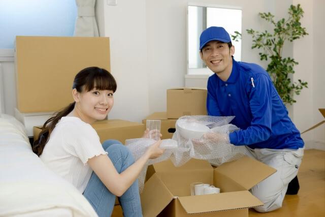引越し業者が梱包するプラン