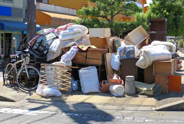 大型ゴミ収集所