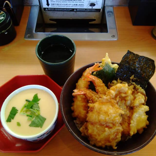 くら寿司の天丼セット