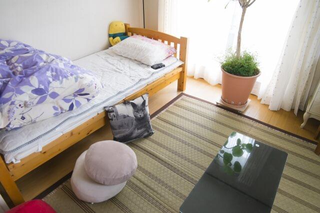 快適な一人暮らしの部屋