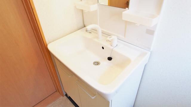 一人暮らしの洗面台